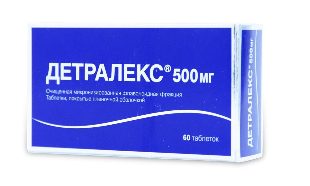 Для устранения неприятных ощущений при выпадении геморроидальных шишек используют Детралекс
