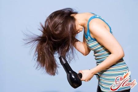 Вред фена для гладкости волос