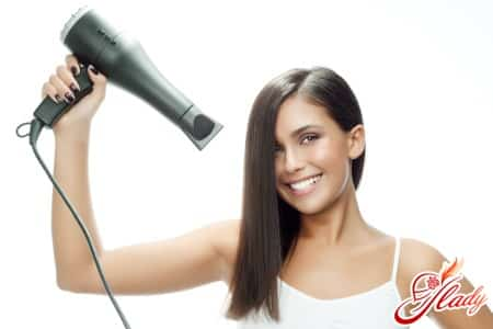 Вред фена для кудрявых волос