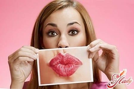 разные способы увеличения губ