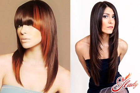 красивые креативные стрижки на длинные волосы