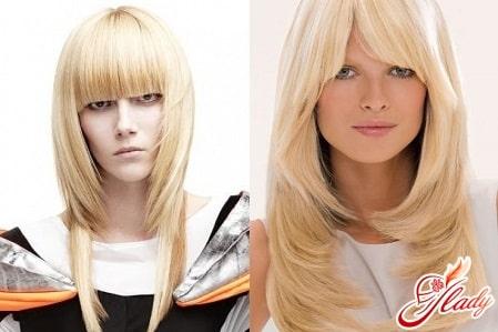 варианты лесенки на длинные волосы