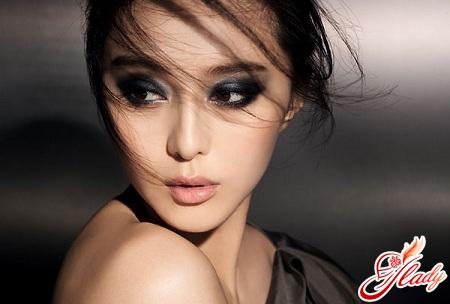 красивый макияж для кареглазых брюнеток