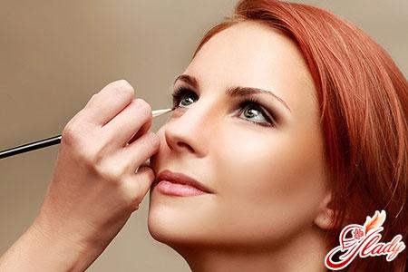 красивый макияж глаз с нависшим веком
