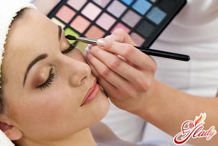 правильный макияж глаз поэтапно