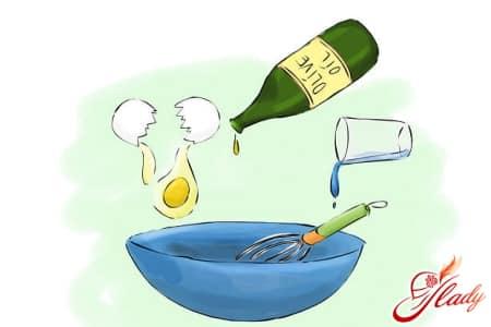 Маска с маслом и желтком