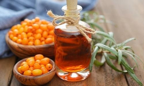 В состав гомеопатических свечей входит масло облепихи
