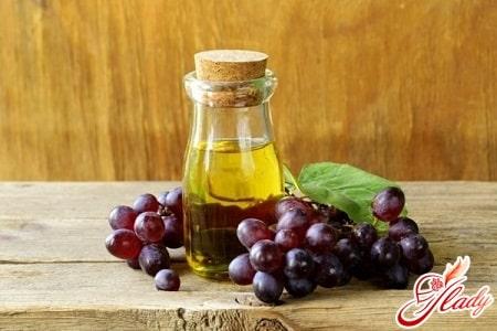 масло винограда для волос