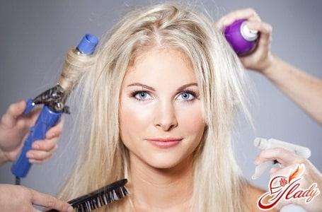 модная укладка волос в домашних условиях