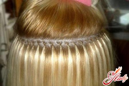 капсульное наращивание волос в домашних условиях