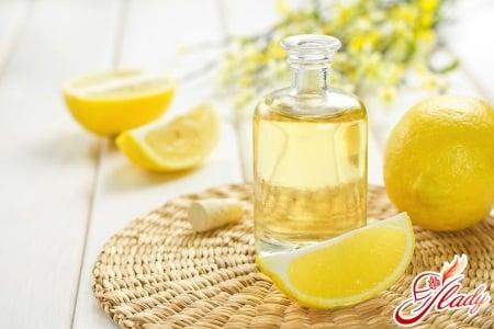 Лимонное масло для пилинга кожи головы