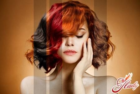правильный подбор цвета волос