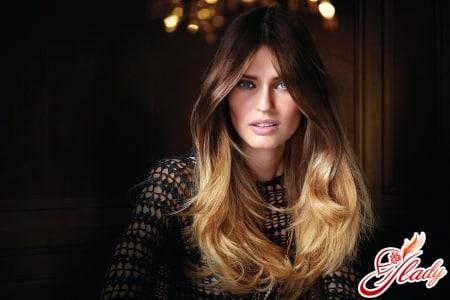 Омбре (деграде) волос