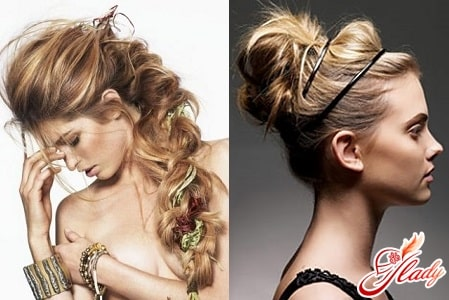 разные прически для длинных волос