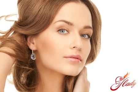 модный свадебный макияж для голубых глаз