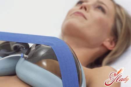 Вакуумный массаж груди