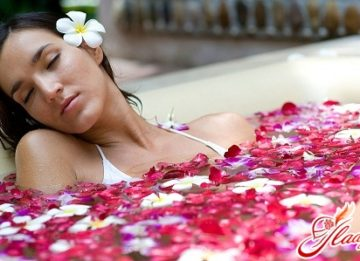 Ритуалы красоты: принятие ванны для тела