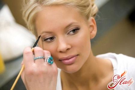 красивый свадебный макияж для зеленых глаз