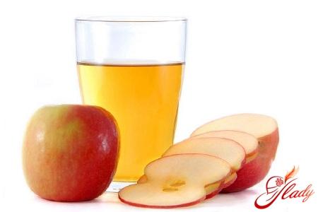 Яблочный уксус для приготовления маски