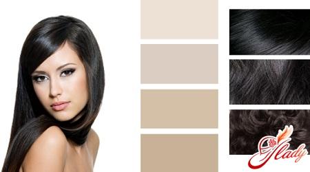 в какой цвет покрасить темные волосы